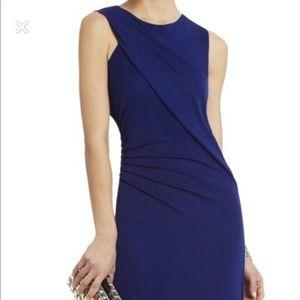 BCBG shoulder draped dress